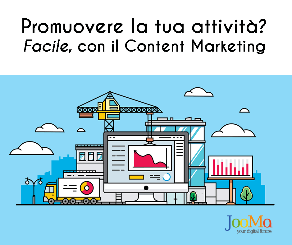 promuovere attività content marketing